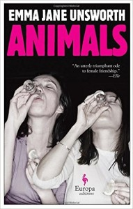 cover of animals by emma jane unsworth