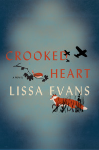 cover of crooked heart by lissa evans