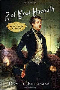 cover of riot most uncouth by dan friedman