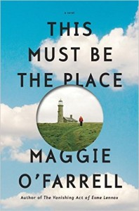 cover of this must be the place by charlotte rogan
