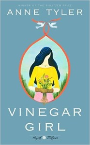 cover of vinegar girl by anne tyler